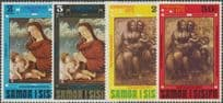 Samoa SG373-6 Christmas 1971 set of 4