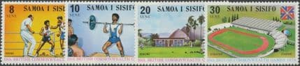 Samoa SG422-5 Commonwealth Games, Christchurch set of 4