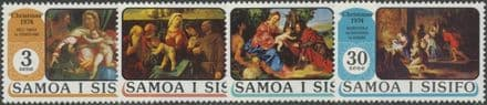 Samoa SG435-8 Christmas 1974 set of 4
