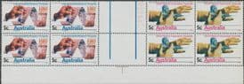 SG 426a 5c Int Soil Science Conf and World Medical Ass Assembly gutter block of 8 (AF1/166)