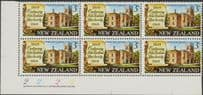 SG 894 3c Centenary of New Zealand Law Society plate block of 6 (NF1/171)