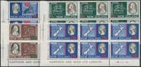 SG 906-9 Bicentenary of Captain Cook's Landing in New Zealand set of 4 plate blocks of 8 (NF1/180)