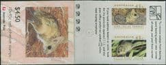 SG SB78c $4.50 Threatened Species booklet (AB1/19)