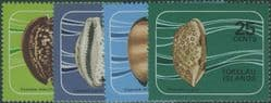 TOK SG41-4 Shells of the Coral Reef set of 4