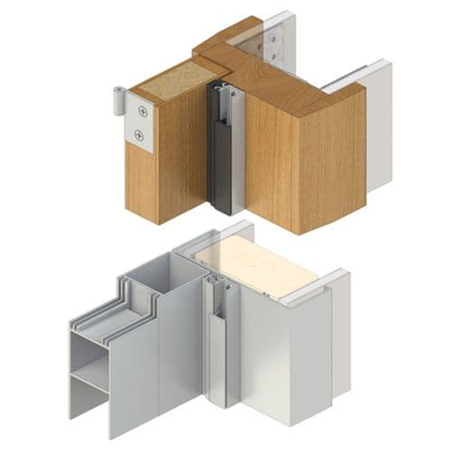 Door Stop Frame Seal - Raven RP10Si (Double Doorset)