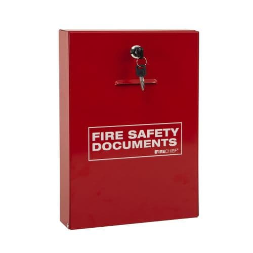 Fire Document Holder (Slimline Design with Key Lock)