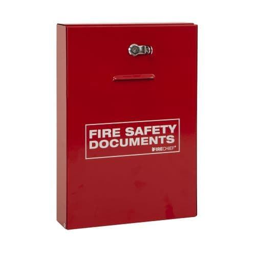 Fire Document Holder (Slimline Design with Seal Latch)