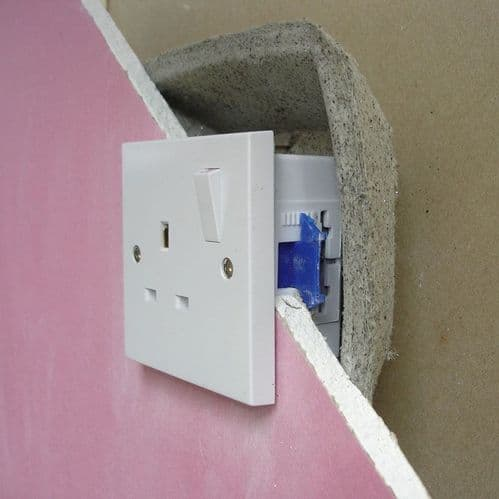 Intumescent & Acoustic Socket Box Cover (Single x 10)