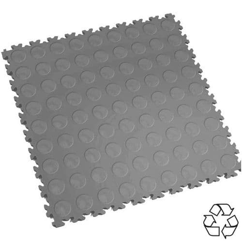 MotoLock HD Recycled PVC Interlocking Tiles (Mid CoinTop)