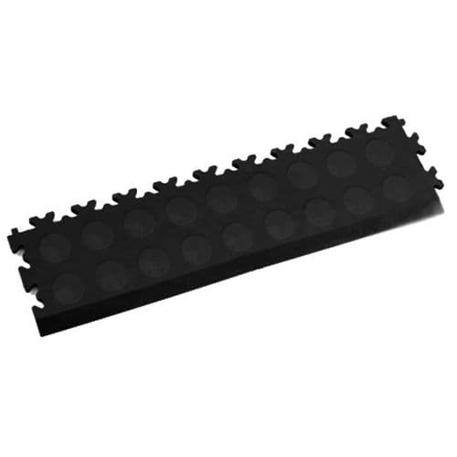 MotoLock Interlocking Tile Edging (Black CoinTop)