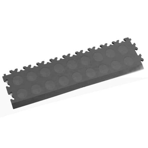 MotoLock Interlocking Tile Edging (Dark Grey CoinTop)