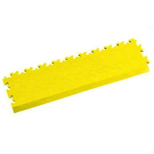MotoLock Interlocking Tile Edging (Yellow CoinTop)