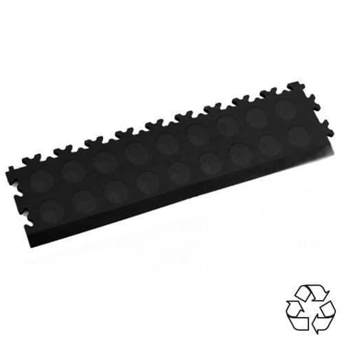 MotoLock Recycled PVC Tile Edging (Black CoinTop)