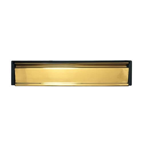 Telescopic Letterbox (Gold Anodised)