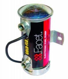 Facet Blue Top Cylindrical Fuel Pump - Competition 480534