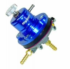 Sytec 1:1 Motorsport Fuel Pressure Regulator 2-6 bar 8mm MSV001B (BLUE)