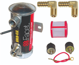Facet Red Top Cylindrical Fuel Pump Kit 480532-k 10mm