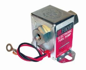 FACET Solid State Fuel Pump 3.0 - 4.5 psi [Built-in Check Valve] 40288