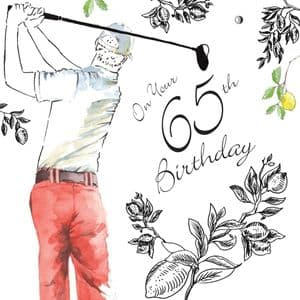 NES68 - 65th Birthday Card For Him
