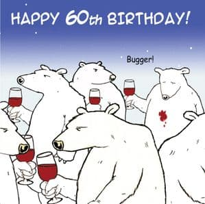TW463 - Age 60 Birthday Card