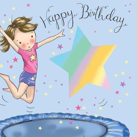 Childrens Birthday Cards. Cute Cards. Age Cards. Happy Birthday Cards. Girls Cards. Twizler.