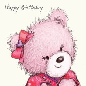 Birthday Bear For Girls