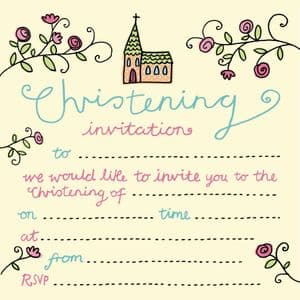 Christening & Communion Invitations