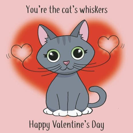Funny Valentines Day Cards. Funny Valentine Cards From Cat. Funny Valentine's Day Cards. Humorous Greeting Cards. Animal Cards. Twizler.