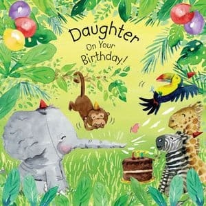 TOT15  Daughter Birthday Card