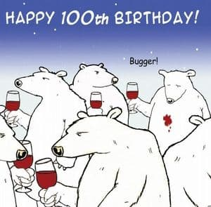 TW470 - Age 100 Birthday Card